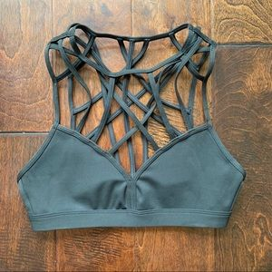 Reebok Cage Front Strappy Bra